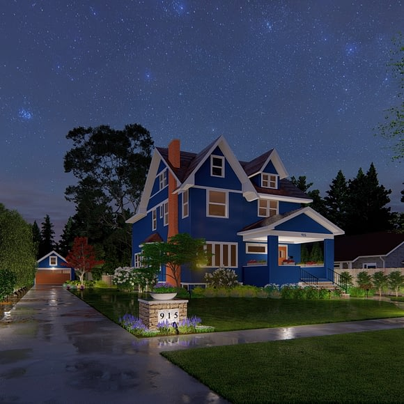 Outdoor Lighting and Front Yard Curb Appeal