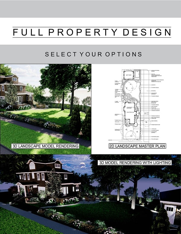 Full Property Design Package