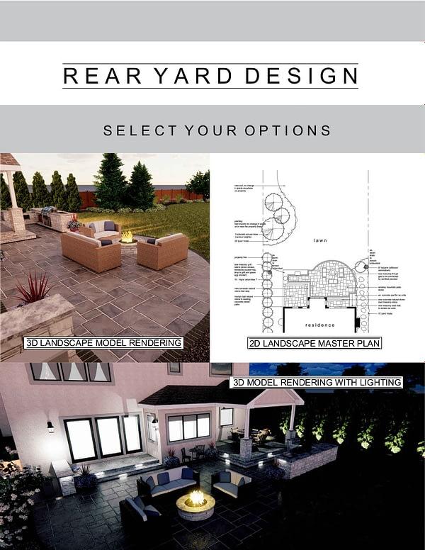 Rear Yard Design Package