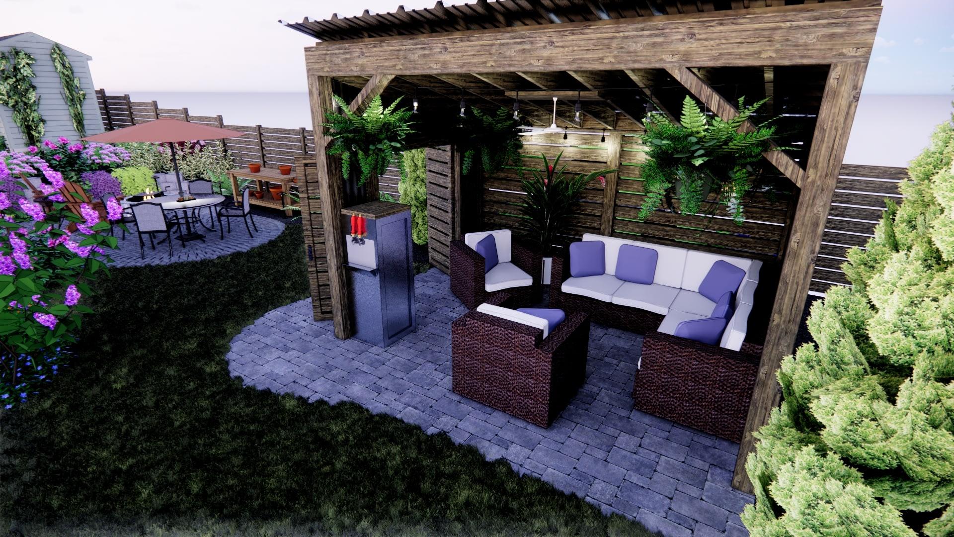 Outdoor Shelter Beer Garden
