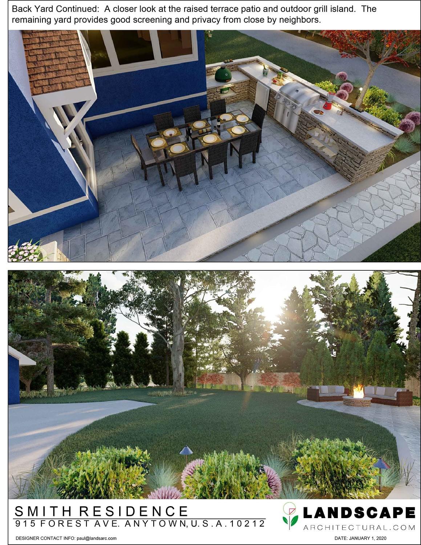 Back Yard 3D Rendering